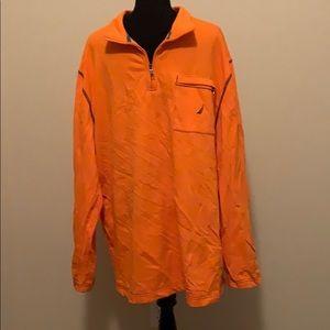 EUC Nautica 1/4 zip 100% cotton men's shirt